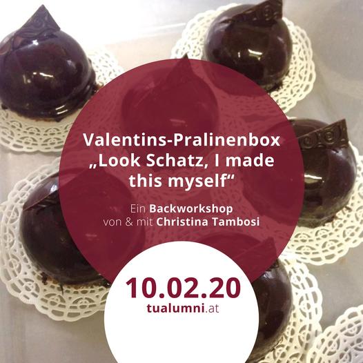 Backworkshop | Valentins-Pralinenbox