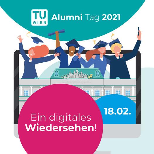 TU Wien Alumni Tag 2021: Ein digitales Wiedersehen!