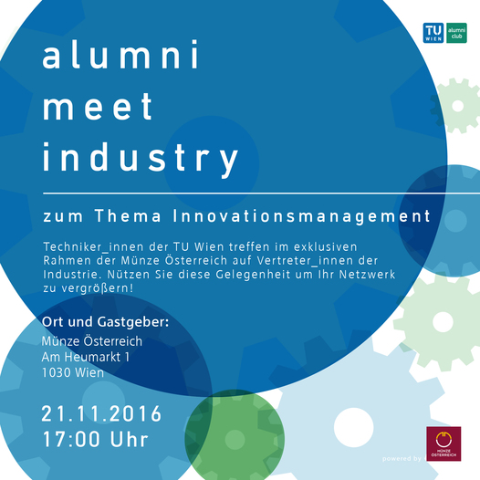 Alumni meet Industry | Innovationsmanagement