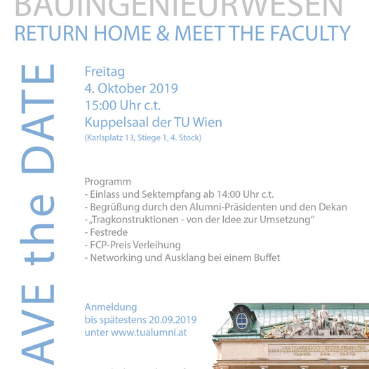 Bauingenieurwesen | Return Home & Meet the Faculty