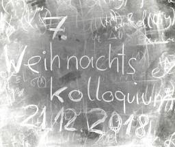 7. Weihnachtskolloquium der Mathematik  Homecoming-Event der Fakultät für Mathematik und Geoinformation
